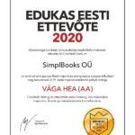 Edukas Eesti Ettevõte 2020 SimplBooks EST-1