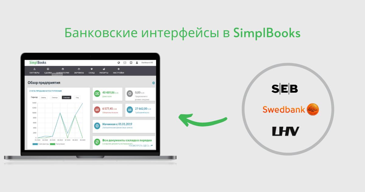 Банковские интерфейсы в SimplBooks