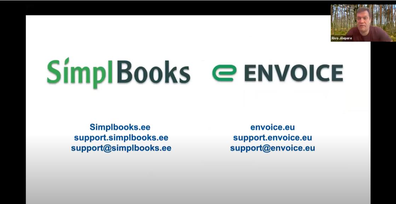 SimplBooks ja Envoice webinar