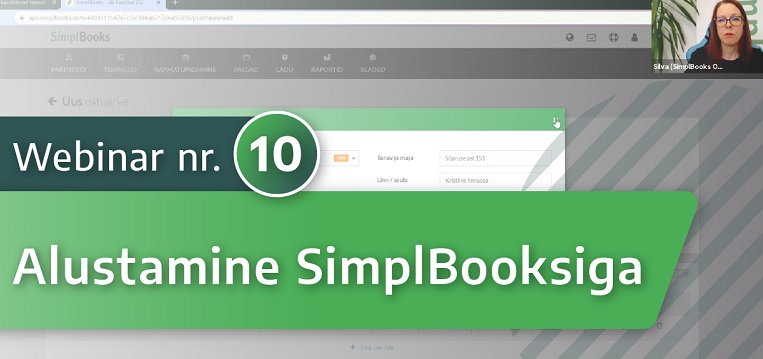 Kuidas alustada SimplBooks raamatupidamistarkvaraga