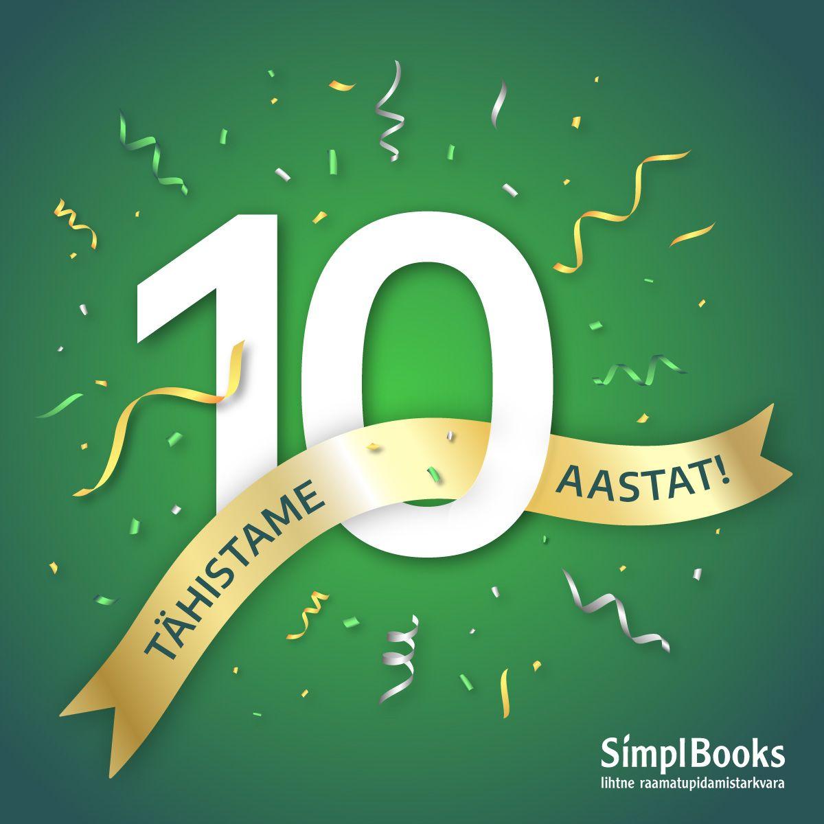 SimplBooks 10. juubel