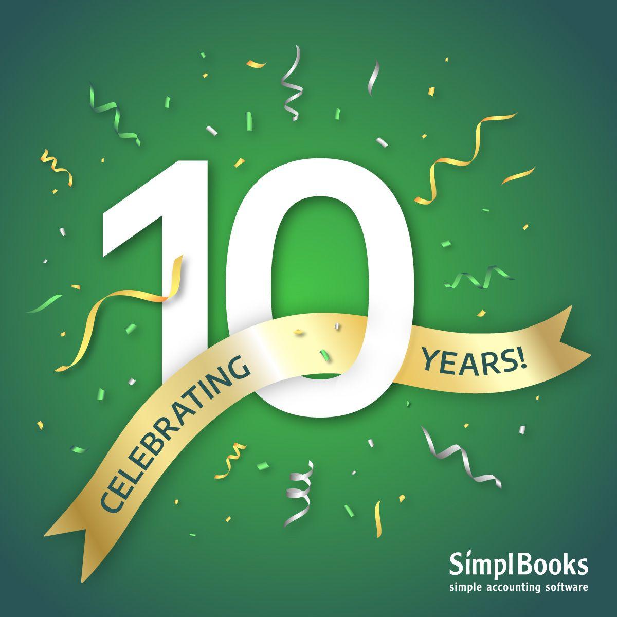 SimplBooks anniversary